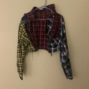 Off Line plaid shirt